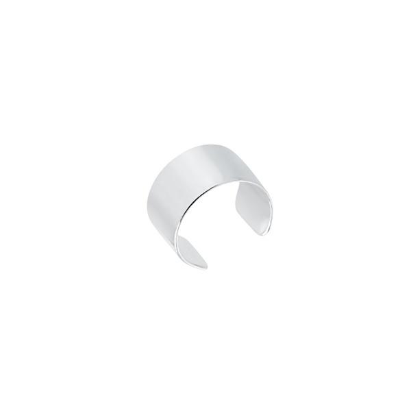 Piercing Liso Grosso Pressão em Prata 925