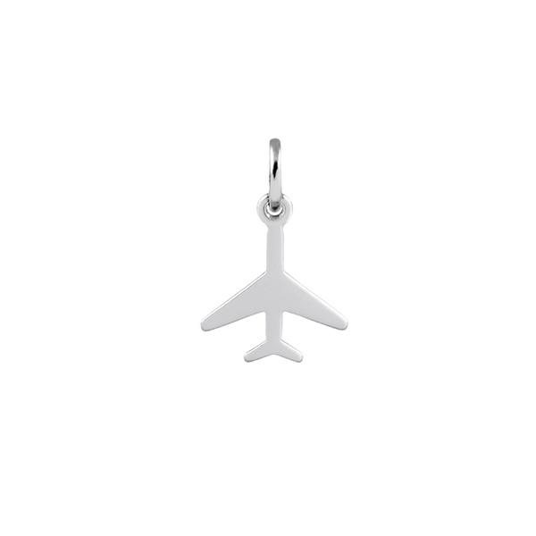 Pingente Avião em Prata 925