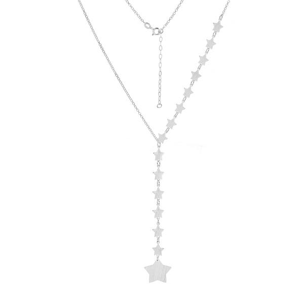 Gravata Estrelas em Prata 925