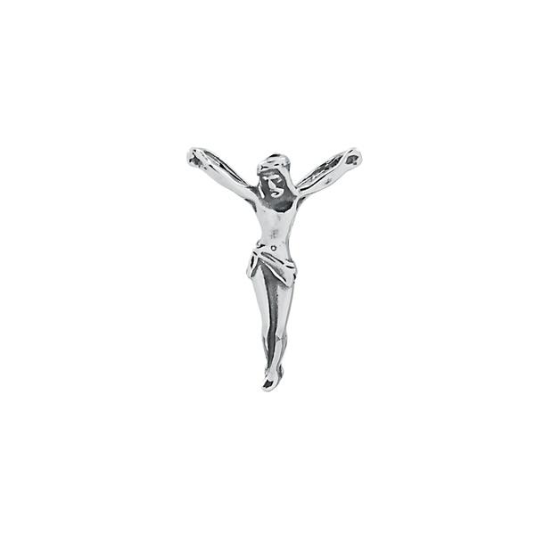 Pingente Cristo Envelhecido em Prata 925