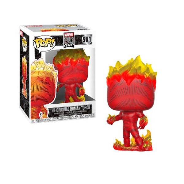 Marvel 80 Years - Human Torch First Appearance #501 Funko Pop