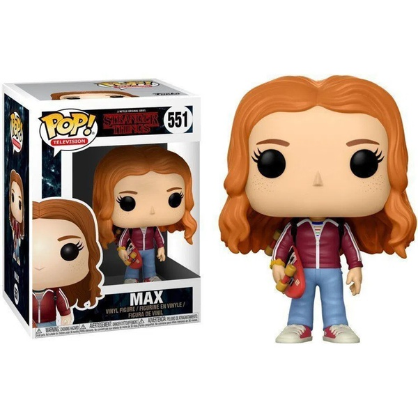 Stranger Things - Max With Skateboard #551 Funko Pop
