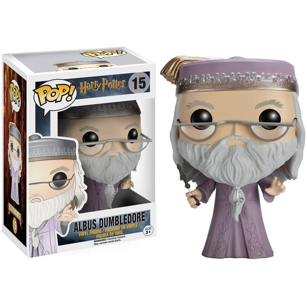 Harry Potter - Dumbledore With Wand 15 Funko Pop