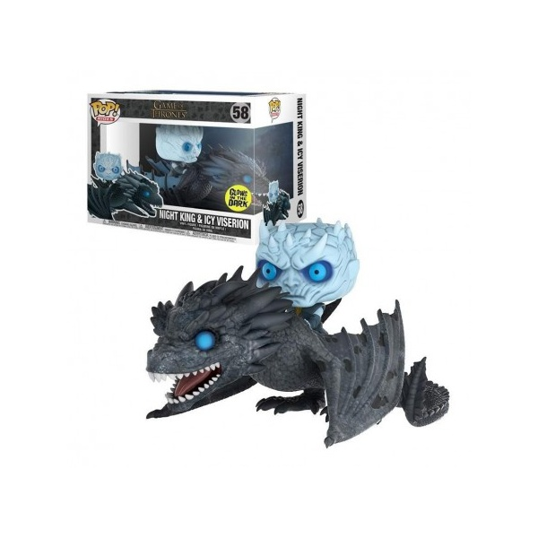 Game of Thrones - Night King and Icy Viserion #58 Funko Pop Rides