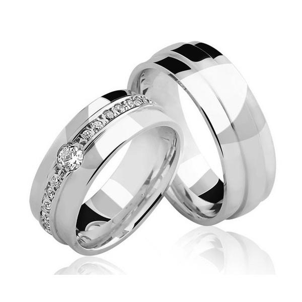 Alianças Australia ♥ Namoro e Compromisso em Prata 0,950