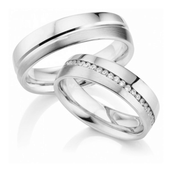 Alianças Alegrete ♥ Namoro e Compromisso em Prata 0,950