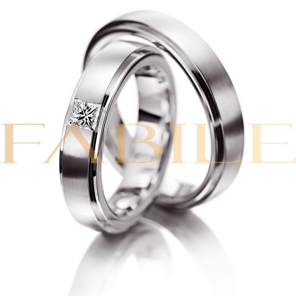 Alianças Julieta ♥ Namoro e Compromisso em Prata 0,950