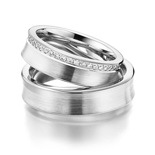 Alianças Auckland ♥ Namoro e Compromisso em Prata 0,950