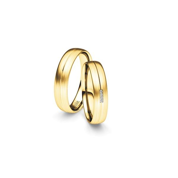 Alianças Los Angeles ♥ Casamento e Noivado em Ouro 18K