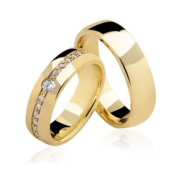 Alianças Fernando de noronha♥ Casamento e Noivado em Ouro 18K