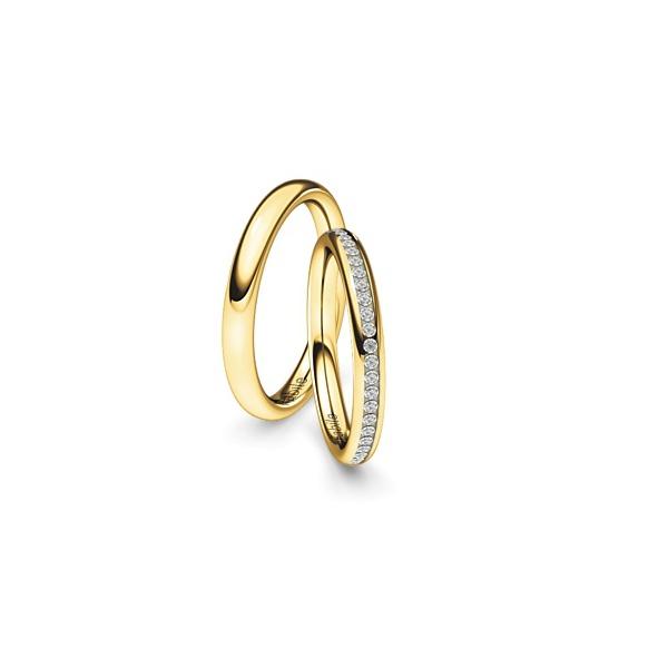 Alianças Évora ♥ Casamento e Noivado em Ouro 18K