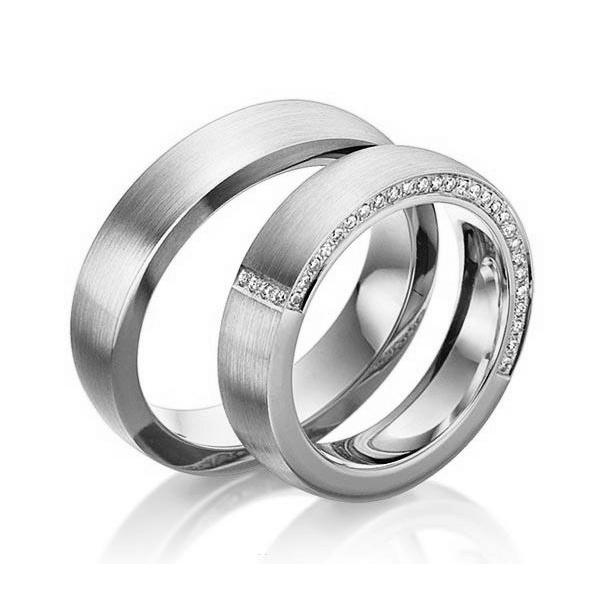 Alianças Cambui ♥ Namoro e Compromisso em Prata 0,950
