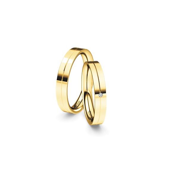 Alianças Bonfim ♥ Casamento e Noivado em Ouro 18K
