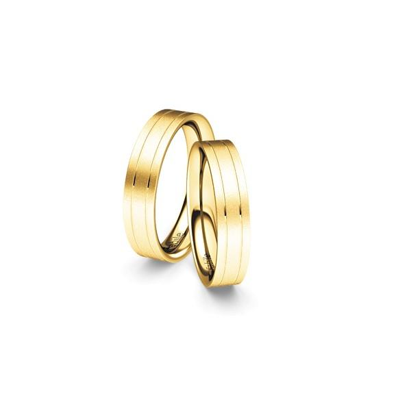 Alianças France ♥ Casamento e Noivado em Ouro 18K