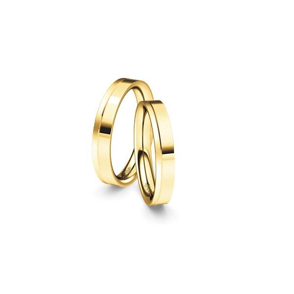 Alianças Amsterdã ♥ Casamento e Noivado em Ouro 18K