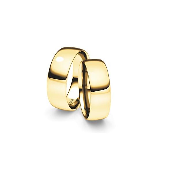 Alianças Arles ♥ Casamento e Noivado em Ouro 18K