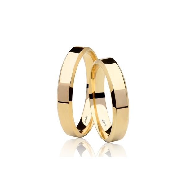 Alianças alabama ♥ Casamento e Noivado em Ouro 18K