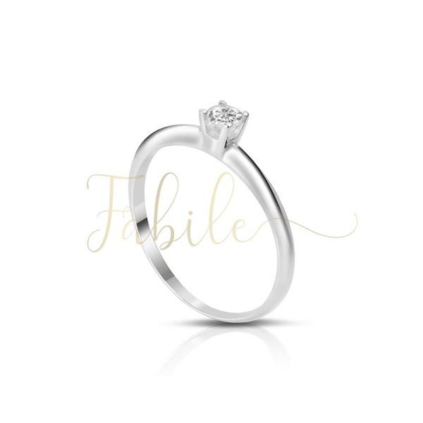 Anel Solitário Fiji ♥ Noivado E Casamento
