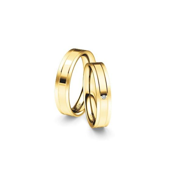 Alianças Guanabara ♥ Casamento e Noivado em Ouro 18K
