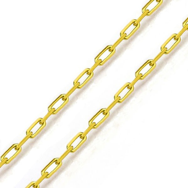 Corrente De Ouro 18k Cartie De 0,9mm Com 45cm