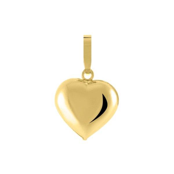 Pingente De Ouro 18k Coração Pequeno