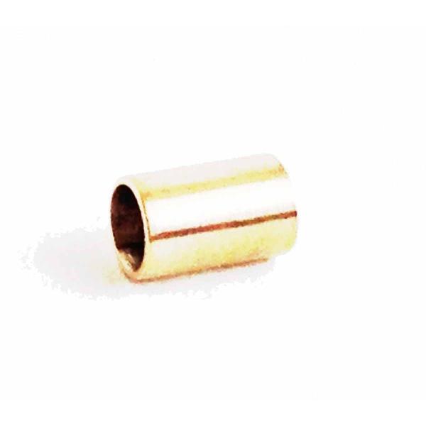 Separador De Ouro 18k Para Pingentes Liso