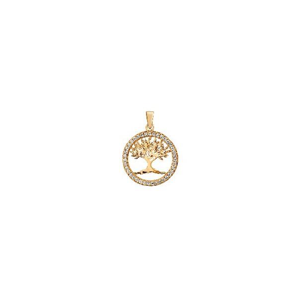 Pingente De Ouro 18k Árvore Da Vida Pequena