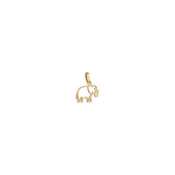 Pingente De Ouro 18k Elefantinho