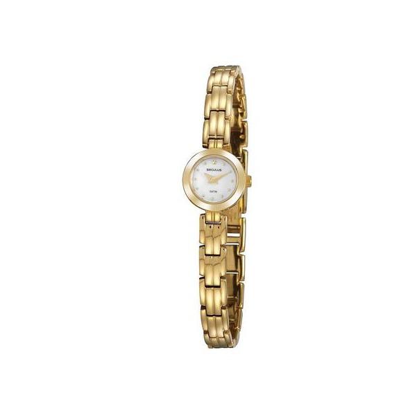 Relógio Seculus Feminino 23690lpsvda1 Social Mini Dourado