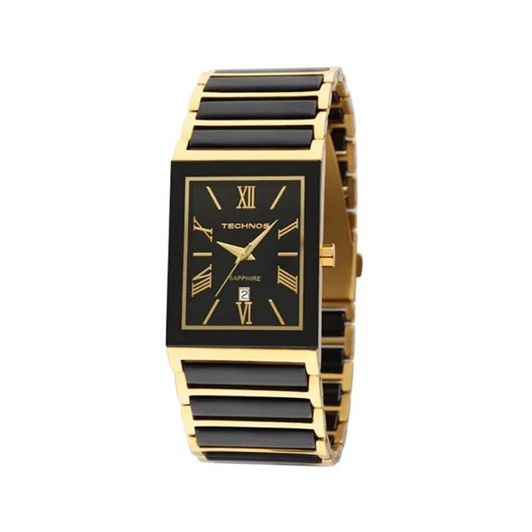 Relógio Technos Feminino Ceramic 2015cf/4p Dourado