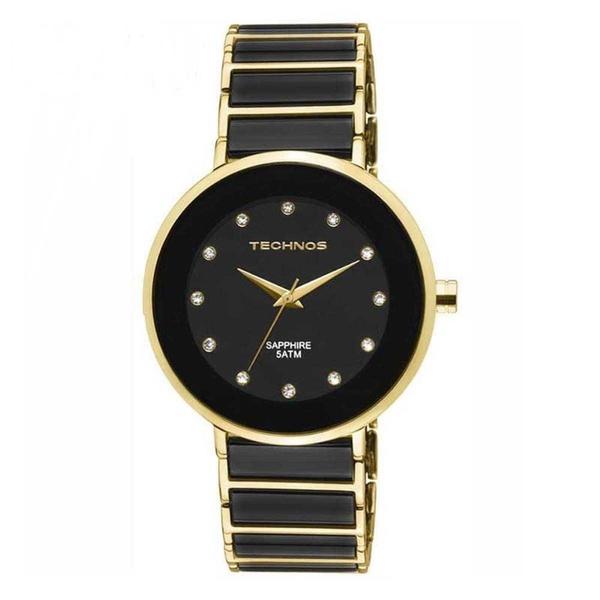 Relógio Technos Feminino Ceramic 2035LMM/4P Dourado