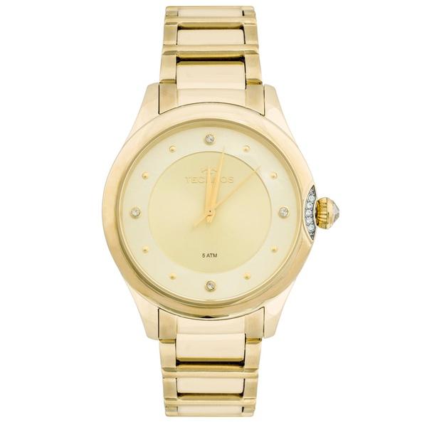 Relógio Technos Feminino Crystal 2035MFR/4X Dourado