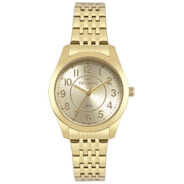 Relógio Technos Feminino Boutique 2035MJDS/4X Dourado