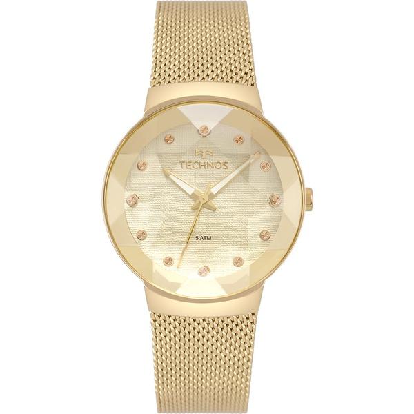 Relógio Technos Feminino Crystal 2035MPW/4X Dourado