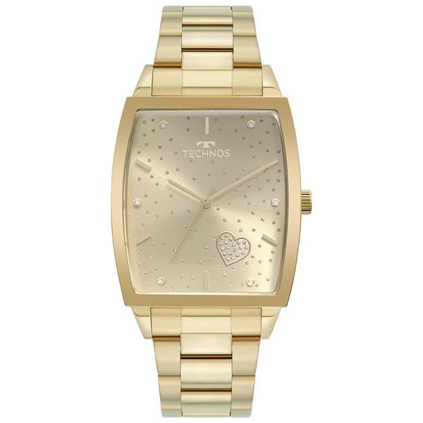 Relógio Technos Feminino Trend 2035MUJ/1X Dourado