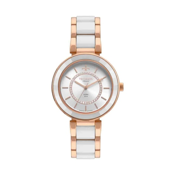 Relógio Technos Feminino Ceramic 2036MKP/4B Rosé