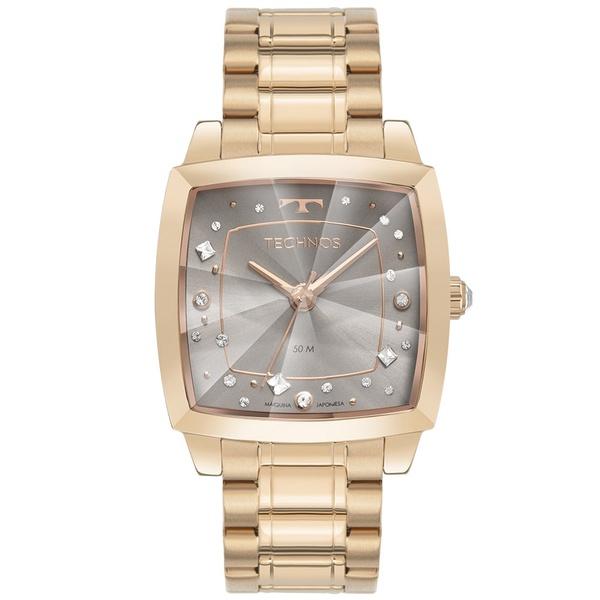 Relógio Technos Feminino Crystal 2036MNF/1C Rosé