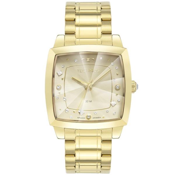 Relógio Technos Feminino Crystal 2036MNG/1X Dourado