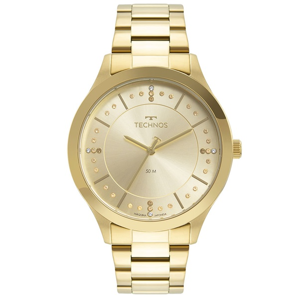 Relógio Technos Feminino Trend 2036MNI/1X Dourado