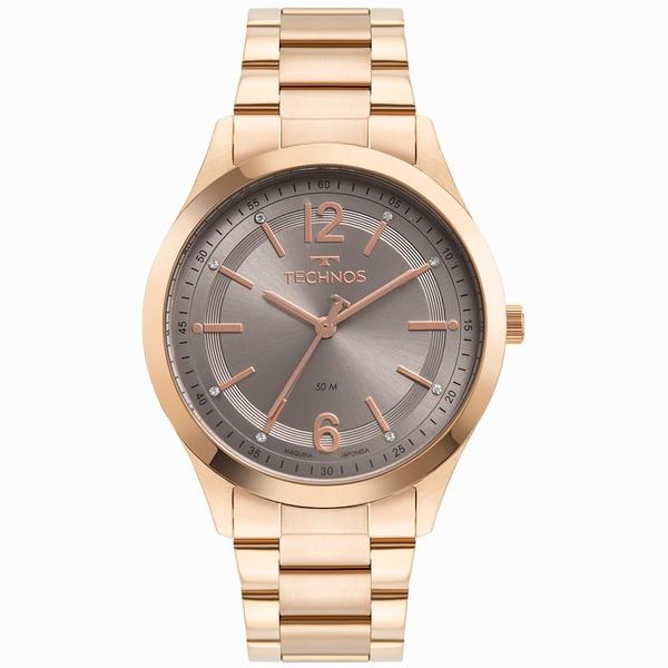 Relógio Technos Feminino Dress 2036MNM/1C Rosé