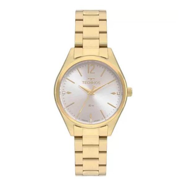 Relógio Technos Feminino Boutique 2036MNO/4K Dourado