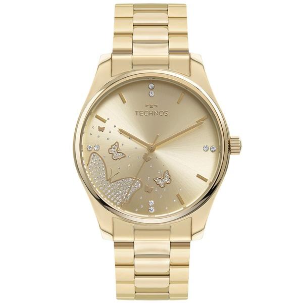 Relógio Technos Feminino Trend 2036MNY/1X Dourado