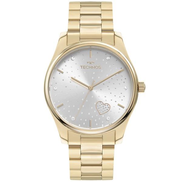 Relógio Technos Feminino Trend 2036MOB/1K Dourado