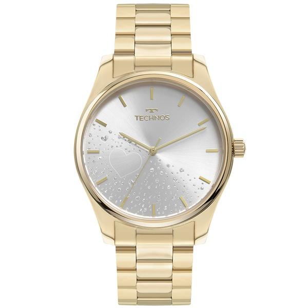 Relógio Technos Feminino Trend 2036MOH/1K Dourado
