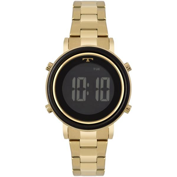 Relógio Technos Feminino Digital Bj3059ac/4p Dourado