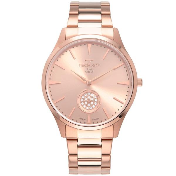 Relógio Technos Feminino Trend Vd78ac/4t Rosé