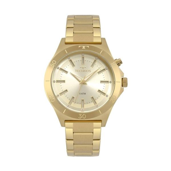 Relógio Technos Feminino Trend Y121e3aa/4x Dourado