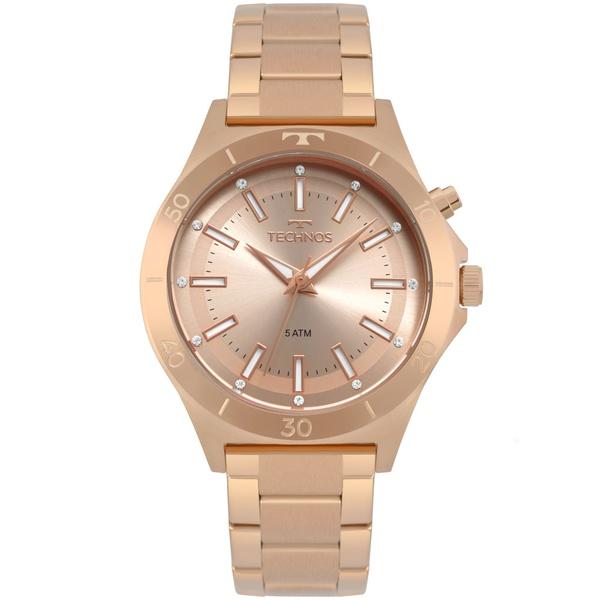 Relógio Technos Feminino Trend Y121e3ad/1t Rosé