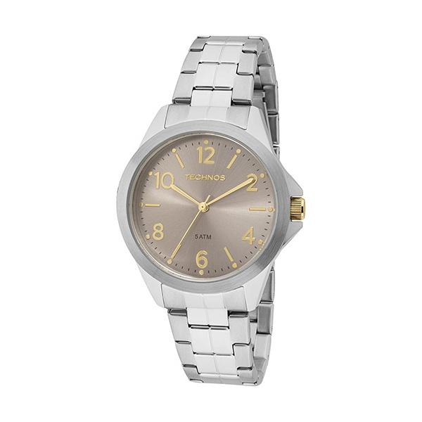 Relógio Technos Masculino Casual 2035MEJ/1C Prata