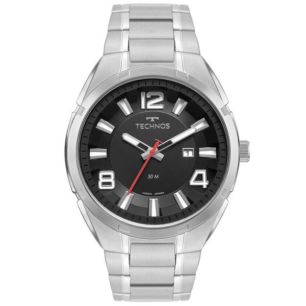 Relógio Technos Masculino Skymaster 2117lcz/1p Prata
